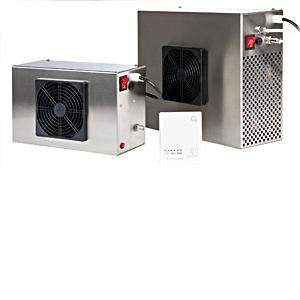 ACF - En effektiv ozongenerator beregnet for fast installasjon
